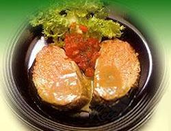 lomo en salsa de maracuyá